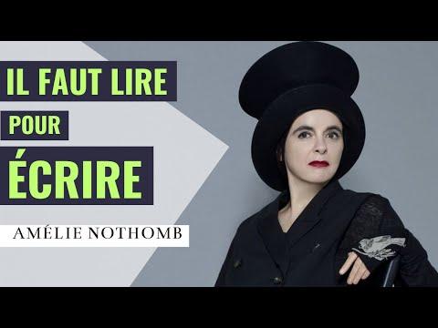[techniques d'écriture] Amélie Nothomb : la préparation d'un roman