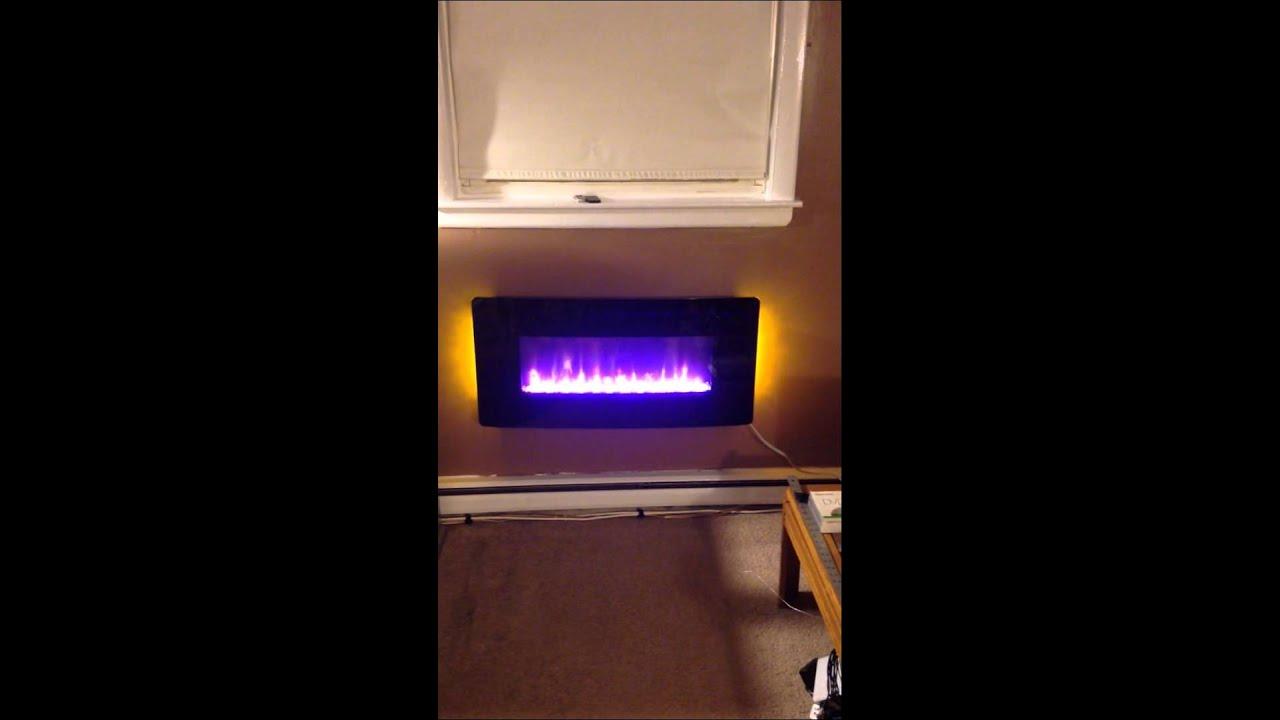"17.3""x36"" electric fireplace"