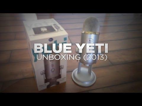 Blue Yeti Unboxing w/Pop Filter (2013)