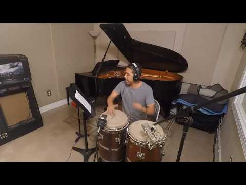 Skylight Recording  Live Stream Congas, bongos, guiro.