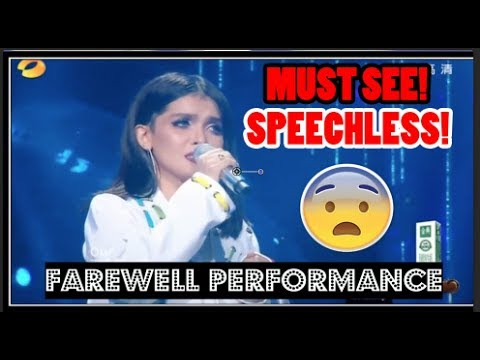 [BEST REACTION! ] FAREWELL SONG! KZ TANDINGAN - SEE YOU AGAIN | Singer 2018 (IS SHE REALLY GONE!?!?)