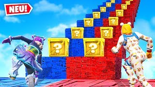 LUCKY BLOCKS TREPPEN Rennen in FORTNITE!