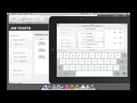 FileMaker Web Seminar: Idea to iPad - Job Ticketing System