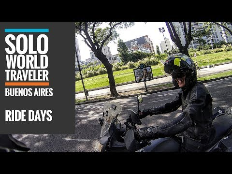 Ride Day 81: Buenos Aires, Argentina Ride Around Town