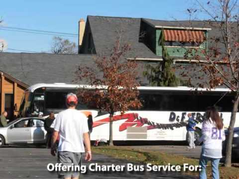 D & F Travel Bus Chartering, School Trips, Dunkirk, NY
