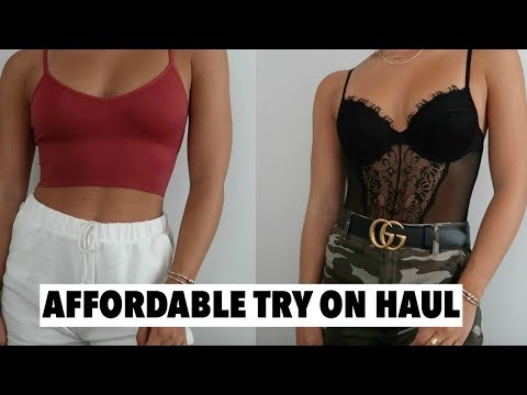AFFORDABLE TRY ON CLOTHING HAUL | Under $150 Forever21