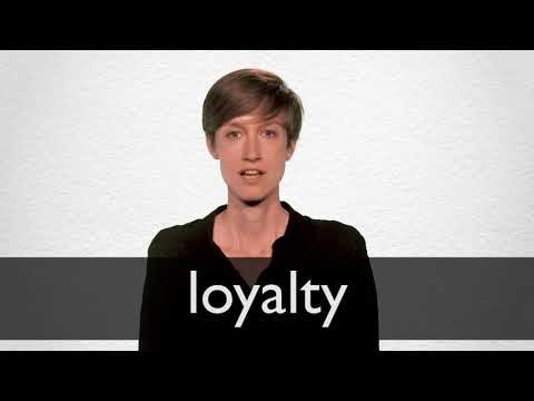 Loyalty definition and meaning | Collins English Dictionary