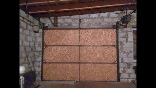 Мои самодельные подъемные ворота на гараж!!!Обзор.