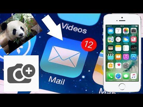 Как на айфоне прикрепить файл в почте