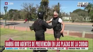 VOLVIERON A AGREDIR A TRABAJADORES DE C5N, AHORA EN PALERMO