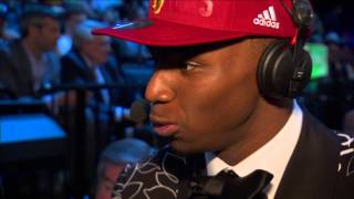 All-Access with Andrew Wiggins & Jabari Parker at the 2014 NBA Draft