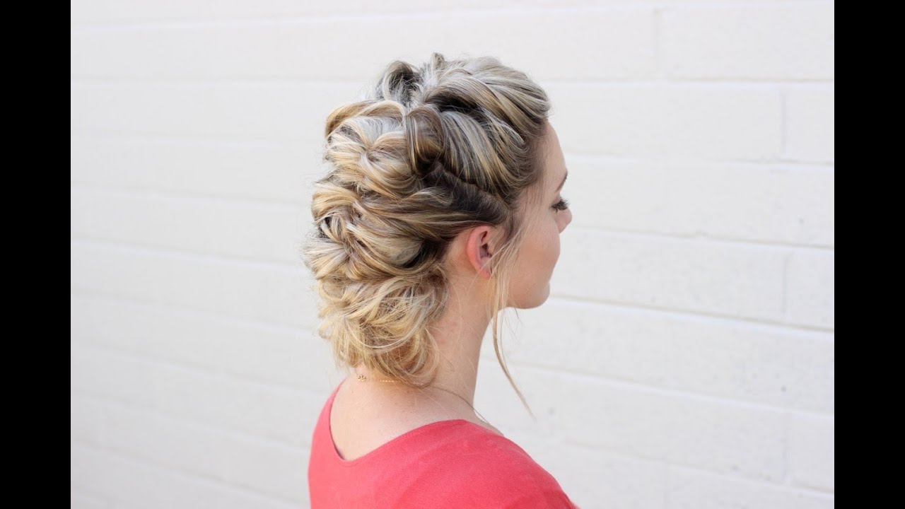 how to: topsy tail hairstyle - youtube
