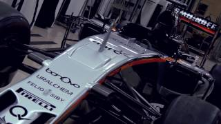 "Sahara Force India F1 Team - ""why we use Gtechniq C0 Aerocoat"" Video"