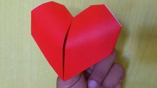 Cara Membuat Origami Hati Berdegup | Origami Hati Origami hati yang
