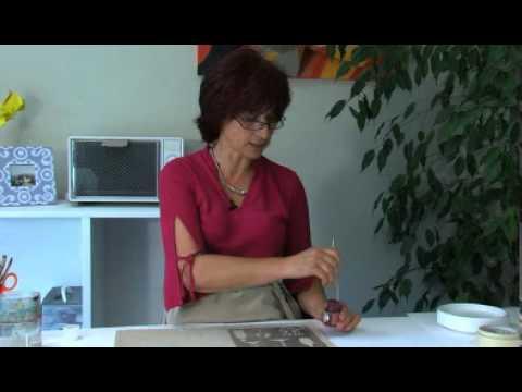 p b o peinture sur tissu s tacolor techniques de peinture avec pochoirs youtube. Black Bedroom Furniture Sets. Home Design Ideas