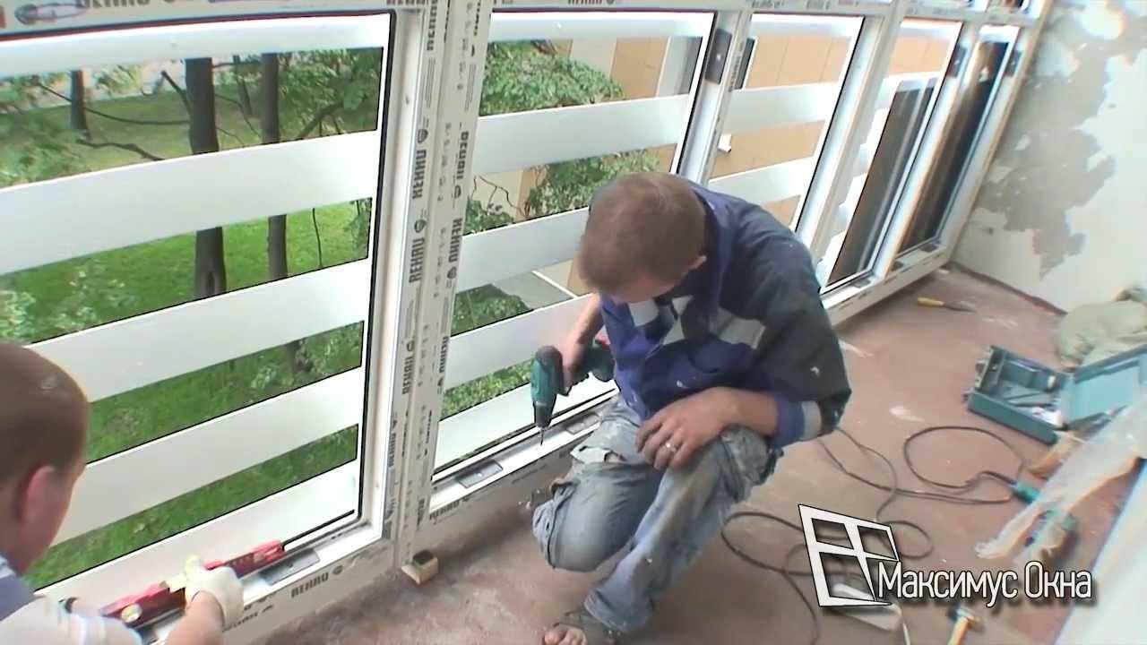 Балкон с остеклением до пола застеклить балкон во львове