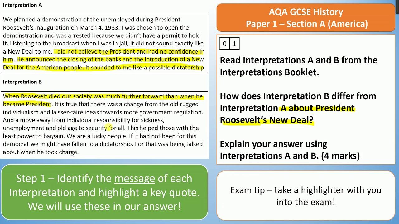 how to write a 20 mark history essay gcse
