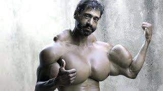 8 ungewöhnliche fake Bodybuilder!