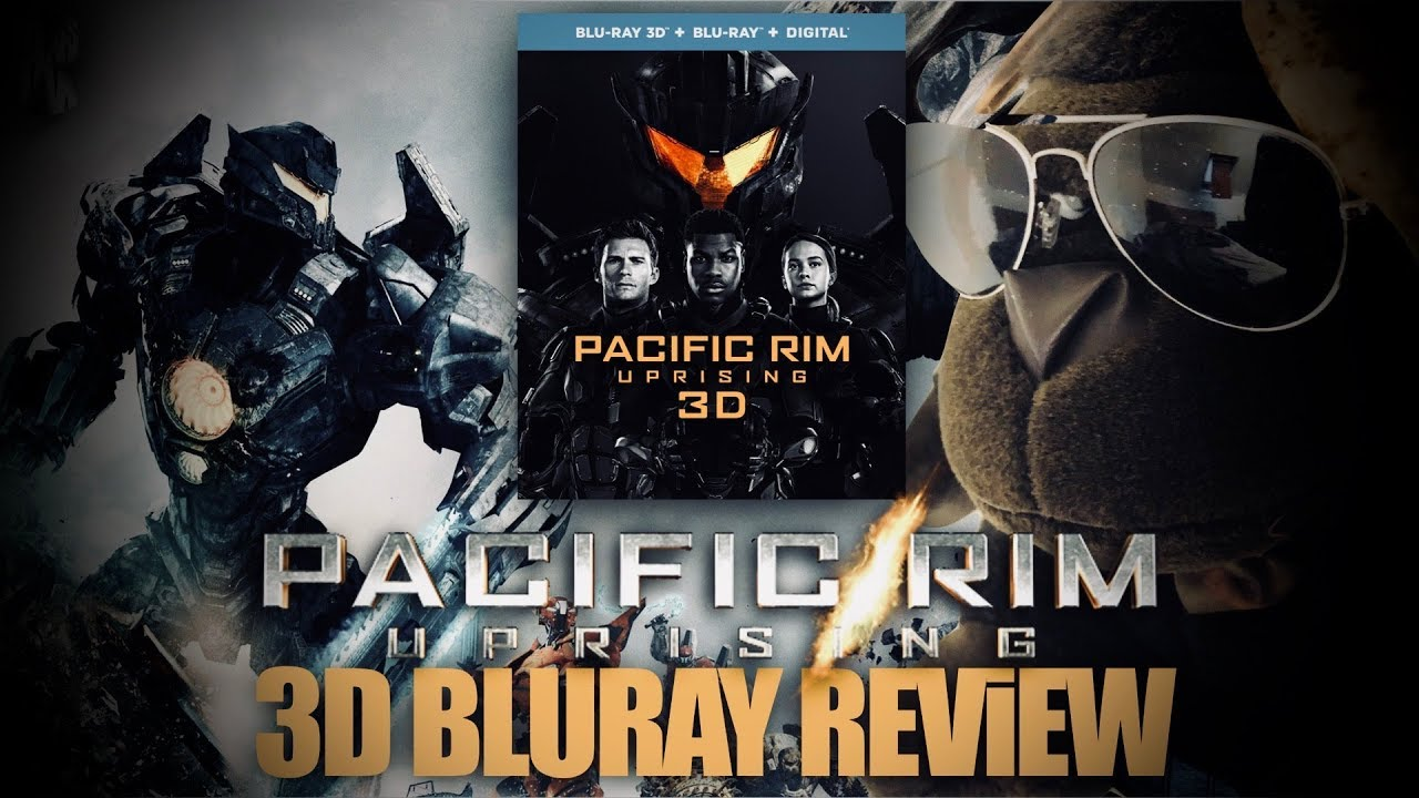 Pacific Rim Uprising 3D Bluray Review