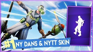 NEW DANCE AND LEGENDARY SKIN! | Fortnite in English!