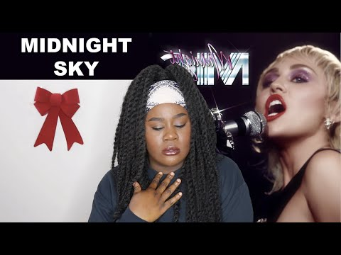 Miley Cyrus - Midnight Sky |REACTION|