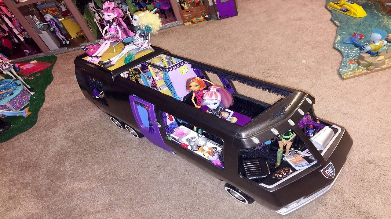Rv Camper Monster High Dollhouse Tour Room 22 Of 40 Bed Of Marisol