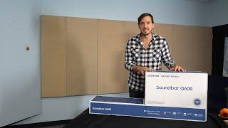 Samsung Q60R Soundbar Unboxing