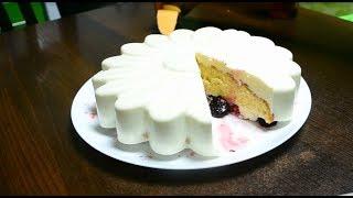 Муссовый торт. Простой рецепт муссового торта с ежевикой
