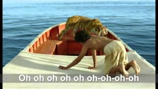 Life of PI - theme song - Paradise - with lyrics