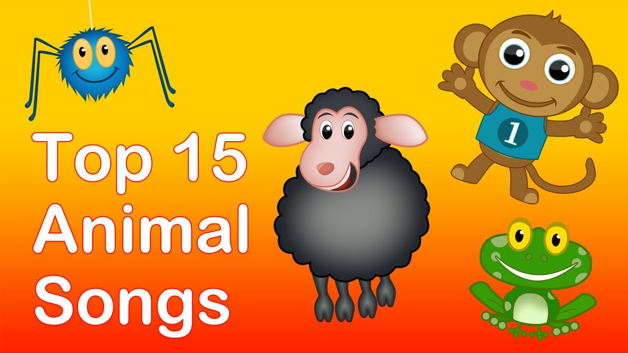 Top 15 Animal Songs 25 Mins Long Animals Nursery Rhymes Playlist For Babies And Children You
