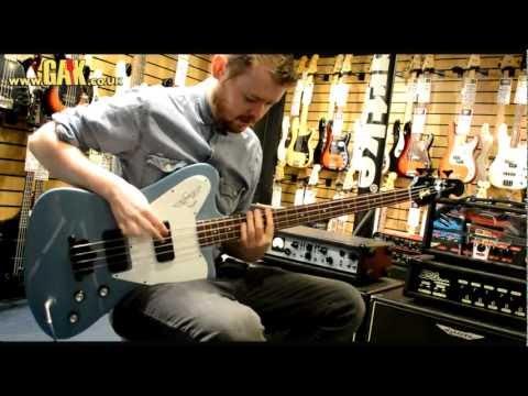 Gibson - Thunderbird Non-Reverse Demo at GAK