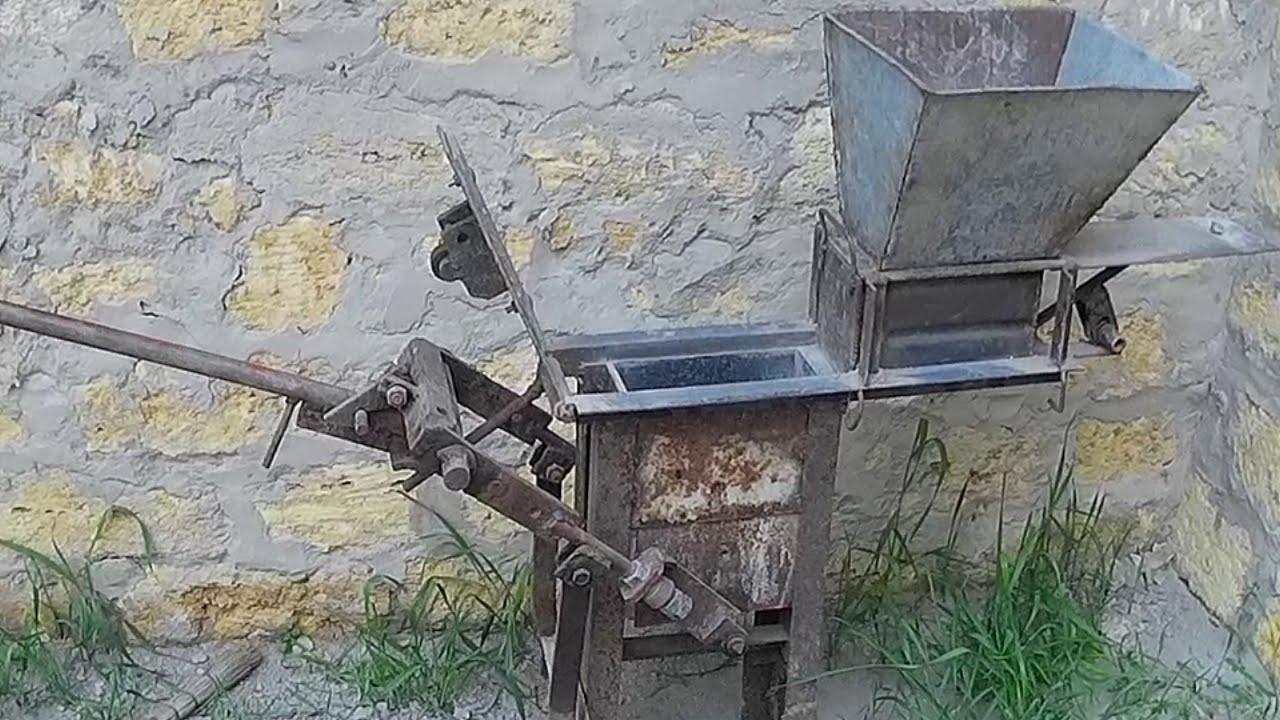 Станок для изготовления кирпича: видео-инструкция 67