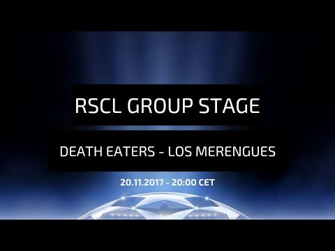 Real Soccer Champions League - group stage: Death Eaters - Los Merengues