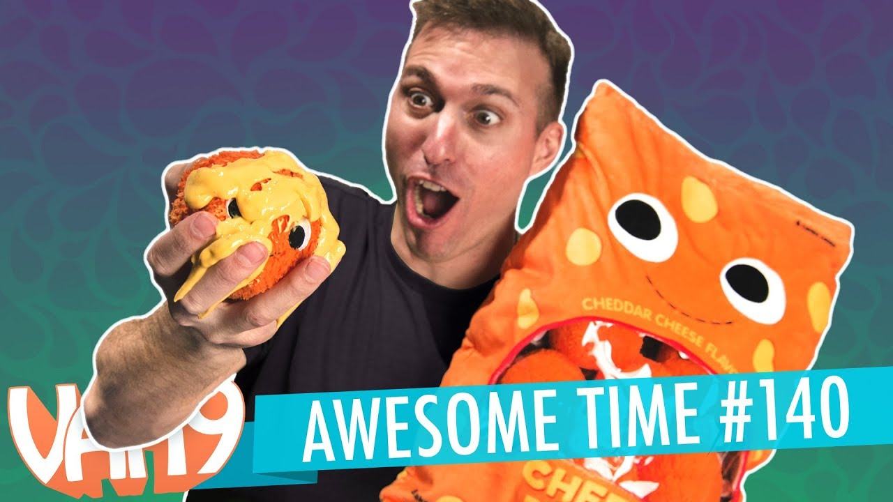 Plush Cheese Puffs, Chewable Coffee, Stupid Science, & More | A.T. #140