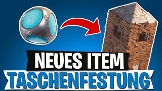 *NEUES* ITEM TASCHENFESTUNG | FESTUNGS GRANATE PORT-A-FORT | FORTNITE BATTLE ROYALE Deutsch