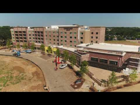 Riverwalk Construction Update Aerial Video - July 2017