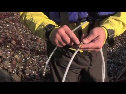 Sea Kayak Lost Hatch and Leaking Skeg Repairs