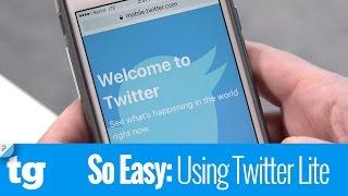 So Easy: Using Twitter Lite screenshot 2