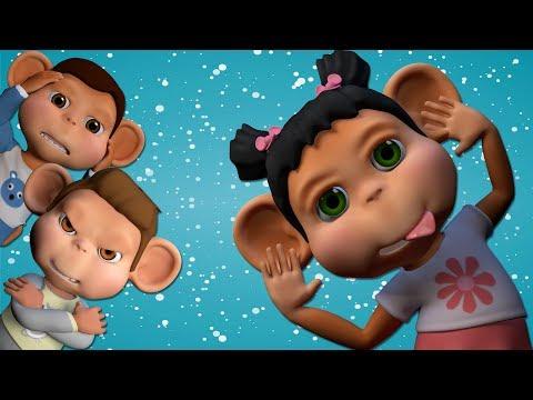 Ten in The Bed | Nursery Rhymes | | kids songs | childrens rhymes | Banana Cartoon #5 [4k]