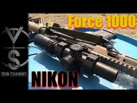 Nikon Black Force 1000 Fast Acquisition 1-4X Scope