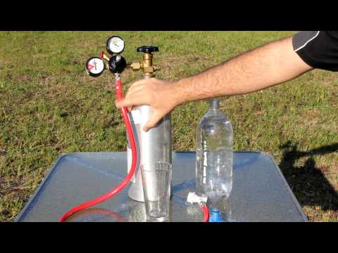 Home Made Big Carbonation System For $45.00 And 4X The Power Of Soda Steam