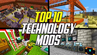 Top 10 Minecraft Technology Mods (Factory, Energy, Processing & Transport)