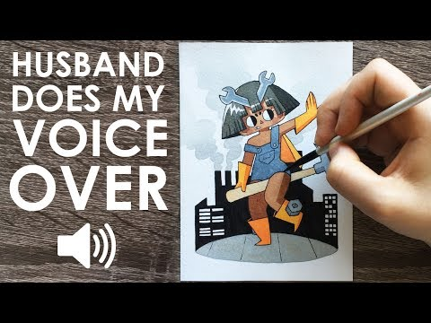 HUSBAND DOES MY VOICEOVER