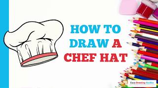 How to Draw a Chef Hat in a Few Easy Steps: Drawing Tutorial for Kids and Beginners