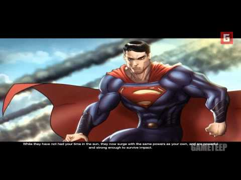 Man Of Steel: Story 1-3 - The Beginning [Part 1] [HD] [Gameplay]