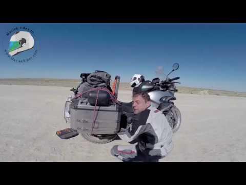 Motorcycle ride across Uzbekistan in 2017