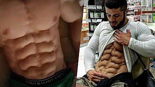 العربي صاحب أقوى وأجمل عضلات بطن 2018 •تحفيز•