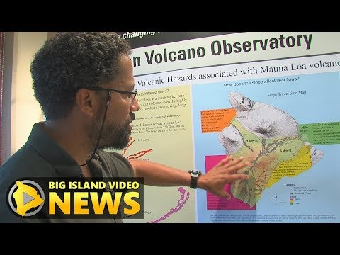 Mauna Loa Talk Story With USGS HVO's Frank Trusdell (Jan. 13, 2018)