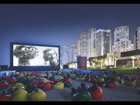 AIRSCREEN - The ultimate inflatable movie screen for giant outdoor movies