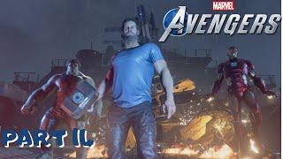Marvel's Avengers Walkthrough Part 14 - ONCE AN AVENGER (Full Game) (Ps4 Pro) (1080p 60fps)